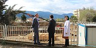Pamukova'da hastane binasının temeli atıldı