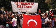 15 Temmuz Darbe girişiminin ikinci yılında Türk Milleti el ele