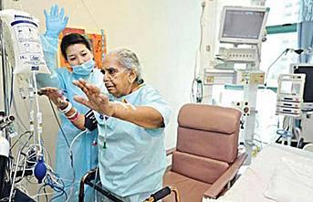 Yoğun bakımdaki hastaya egzersiz yapabilir mi?