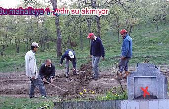 Erdoğan Isır Akçakaya mahallesinde su kesintisine tepki gösterdi.