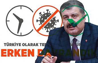 Sağlık Bakanı Korona virüsle mücadeleye neden geç başladıklarını yazdı.