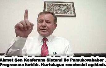Ahmet Şen, 'Türkiye'nin Kurtuluşu için Milletvekilleri ellerini havaya kaldırsınlar'