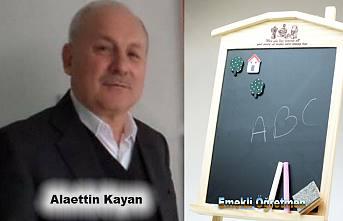 Pamukova Alaettin öğretmenini kaybetti.