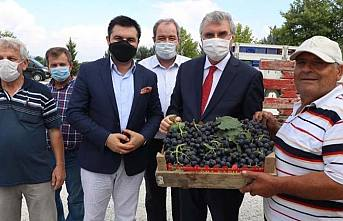 Ekrem Yüce Pamukova'da açılış ve ziyaretlerde bulundu.