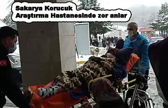 Mart Karı Sakarya'yı hastaneden vurdu.