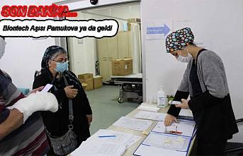 Son dakika.  Biontech aşısı Pamukova ya da geldi.