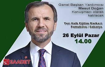 Saadet Partisi 6. Olağan Kongresi 26 Eylül Pazar günü yapılacak.