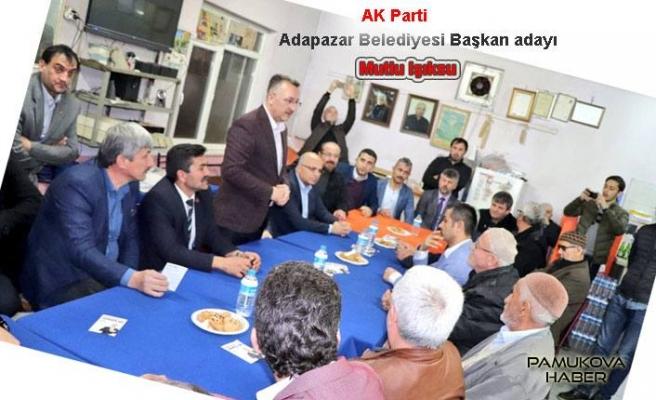 AK Parti Adayı Mutlu Işıksu, Tempoyu Artırdı