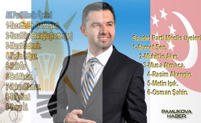 AK Parti, Saadet Partisi Mecliste ortak çalışacaklar.