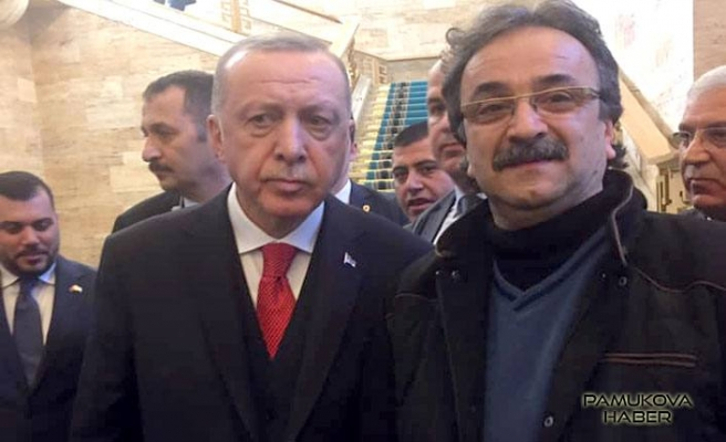 Abdullah Aydın Cumhurbaşkanı Tayip Erdoğan'la görüştü