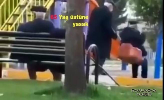 65 yaş ve üstüne sokağa çıkma yasağı geldi.