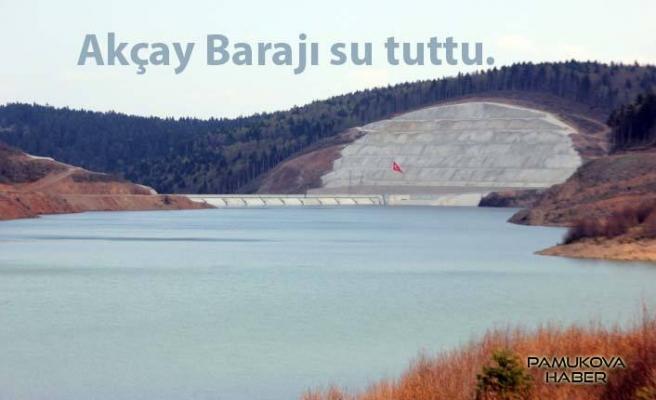 Hayırlı olsun.Yeni bir göletimiz oldu. Adı: Akçay Barajı.