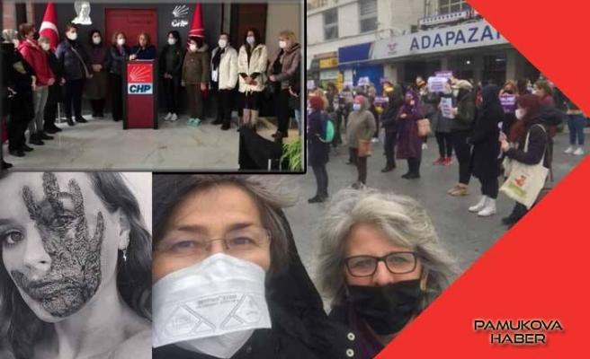 Kadınlar İstanbul Sözleşmesinin feshini yok hükmünde gördüler.