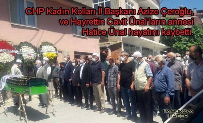 CHP Kadın Kolları Başkanı Azize Çeroğlu ve kardeşlerinin acı günü