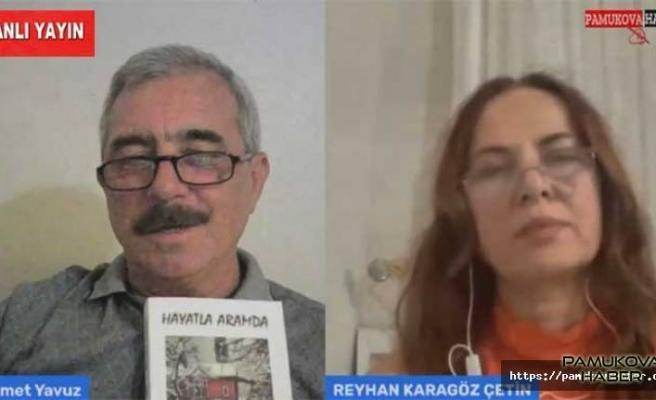 Yazar Reyhan Karagöz Çetin Canlı Yayın Konuğumuz oldu.