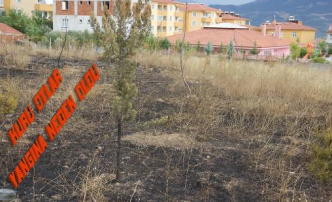 İtfaiye yetişmese Ana Kucağı binası dahil onlarca ev yanacaktı.