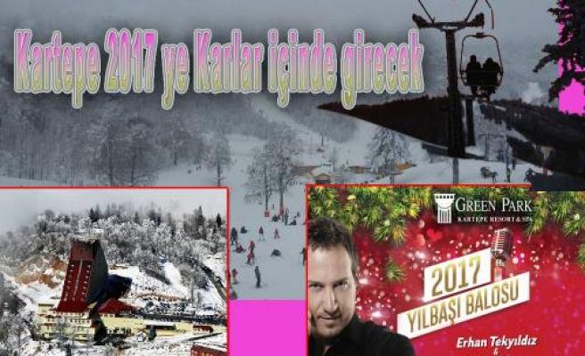 Kartepe Yeni Yıla Karlar Altına Girecek