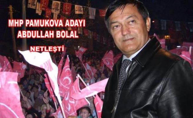 MHP Başkan adayı Abdullah Bolal.