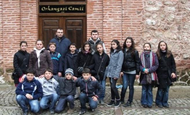Öğrenciler Osmanlı nın izlerini aradılar