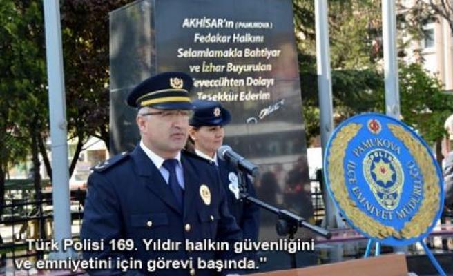 Polis Haftası Törenlerle kutlandı.