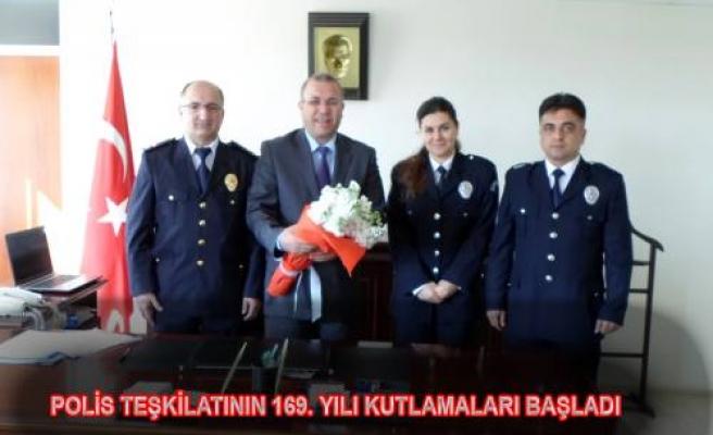 Polis Teşkilatının 169. Yılı Kutlamaları başladı