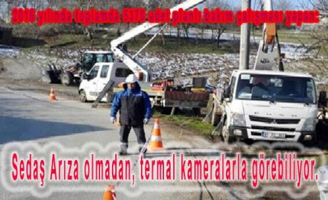 SEDAŞ TRAFO ARIZALARINI YÜZDE 70 ORANINDA AZALTTI