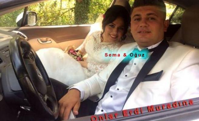 Sema Tok ile Oğuz Katırcı evlendiler.