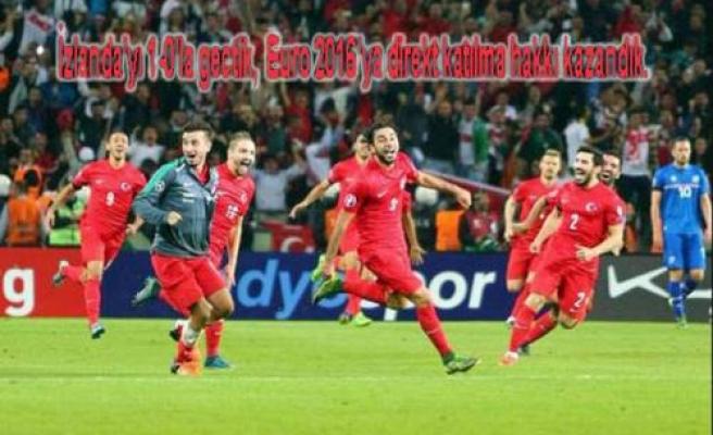 Türkiye Euro 2016 vizesini aldı. İnsanlık ise küme düştü