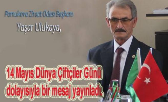 Yaşar Ulukaya Dünya Çiftçiler Gününde bir Mesaj yayınladı