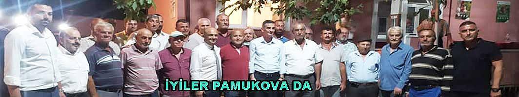 İyi Partililer Pamukova Sokaklarında vatandaşları dinlediler.