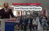 Saadet Partisi Kemal Taşla yola devam dedi.
