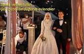 Sema ve Beytullah güzel bir düğünle hayatlarını birleştirdiler.