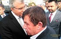 Ekrem Yüce Erhan Kocabıyık cenazesinde