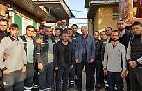 SEDAŞ İcra Başkan Yardımcısı Jan Roszka ziyareti