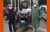 Pamukova'da Korona virüsüne karşı temizlik seferberliği.