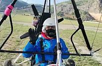 Pamukova'nın ilk Pilotları Uğur Er ve Cemil Şahin