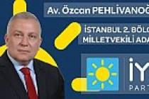 Pamukovalıların da yakından tanıdığı Özcan Pehlivanoğlu İYİ Parti Milletvekili adayı