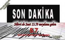 İstanbul'da şiddetli deprem: 5.7 lik depremi Pamukova duydu.