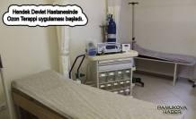 Hendek'te ozon terapi ve kupa uygulaması başladı