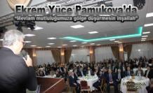 AK Parti'li Başkanlar Pamukova da Muhtarlar ve sivil halkla buluştu