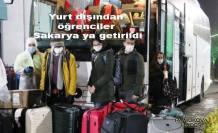 Yurt Dışından getirilen 345 öğrenci Sakarya'da Karantinaya alındı.