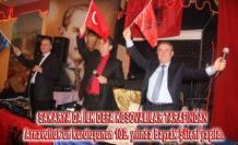 Sakarya'da Arnavutluk'un  102. Kuruluş Yılı  Bayrak Şöleni yapıldı.