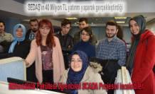 SEDAŞ Çağrı Merkezi ve SCADA SAÜ Öğrencileri tarfından incelendi