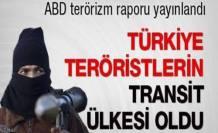 Suriye'ye giden terörist Türkiye'den geçiyor
