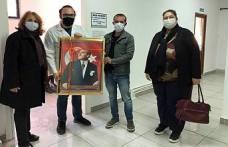 CHP'liler Doktor Türker Berk'e hayırlı olsun ziyaretinde bulundular.