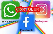 Sosyal Medyanın bir kısmı çöktü