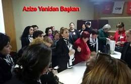 Azize Çeroğlu yeniden başkan seçildi.
