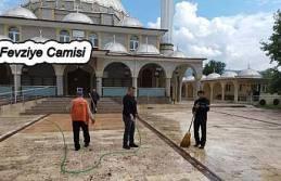 Pamukova da Cuma Namazı Kılınacak Camiler hazırlandı.