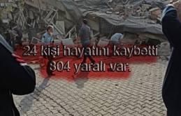 Depremde 24 kişi hayatını kaybetti, 804 kışı...