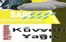Meteoroloji Uyardı...! Marmara dahil Sakarya'da...